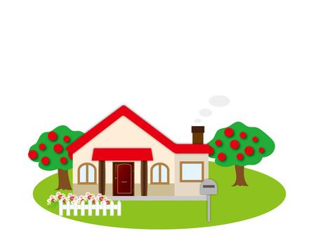 House house garden