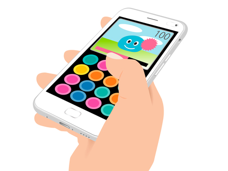 Smartphone (game) handheld