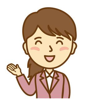 Saleswoman Female 4_ Touoso 2