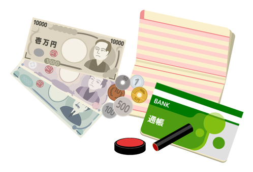 Passbook · Cash · Seal 2