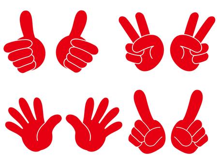 Hand sign 03