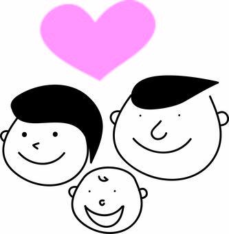 간단한 가족