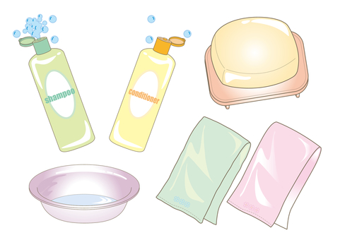 Beauty · Nursing care · Amenity set