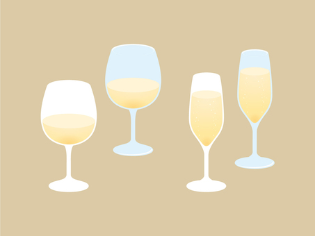 Wine and sparkling wine [white]