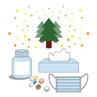 Image of pollen allergy prevention goods