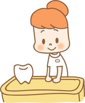 Dentist receptionist