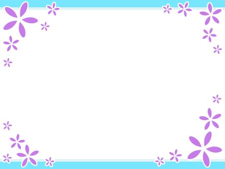 Flower simple frame 1