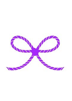 Flower knot water draw