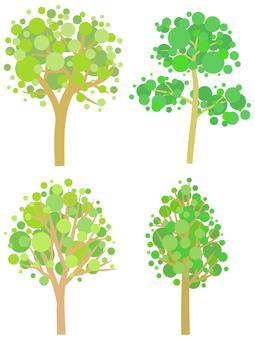 Trees 4 species _001