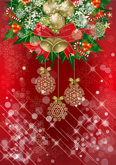 크리스마스 & 눈 RED25