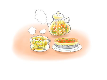 허브 차와 허브 케이크