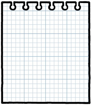 Notepad grid