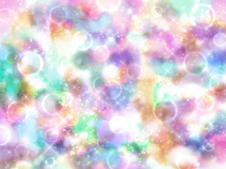 Colorful universe wallpaper opal 2