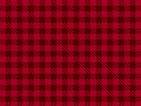 Shepard check ● Christmas red