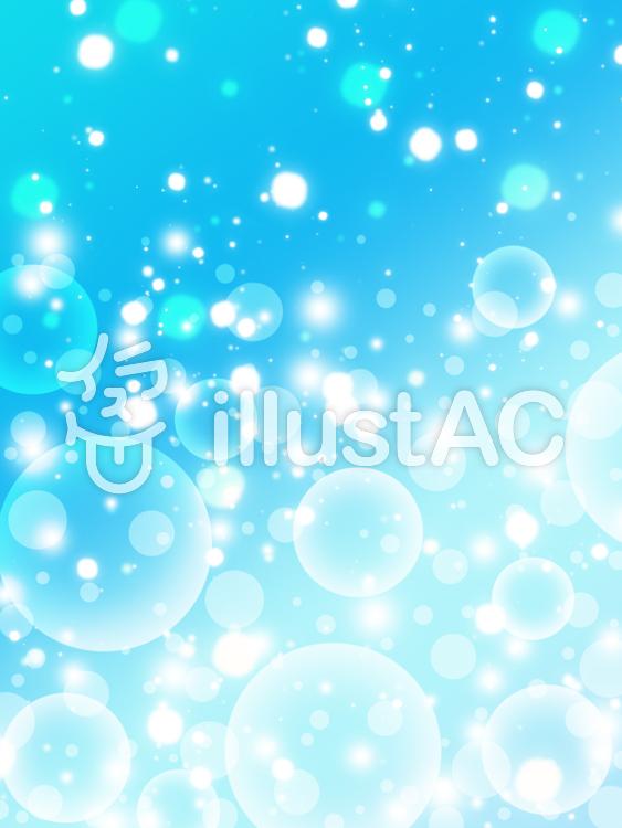 【フリーイラスト素材】光の玉01