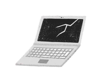 筆記本電腦壞了