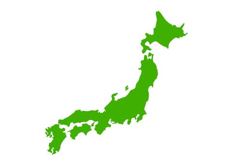 日本地圖02的插圖