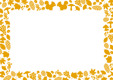 Fall of autumn motif