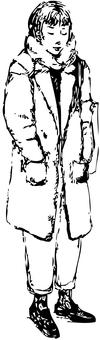 Girl_chester coat