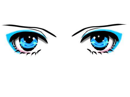 Binoculars icon Blue