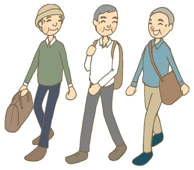 Traveling Male (Senior)