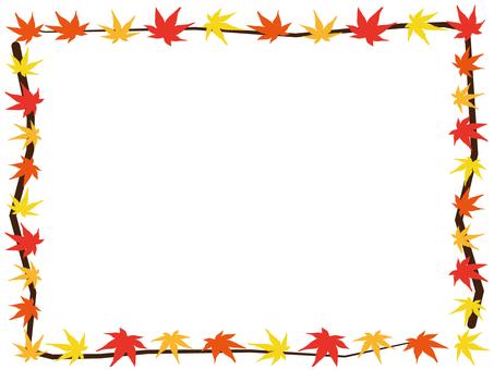 Autumn Leaves Frame 10