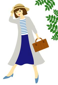 Fashionable women _ 1