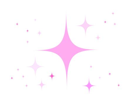 반짝이 핑크