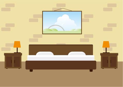 Illustration in the interior room 6