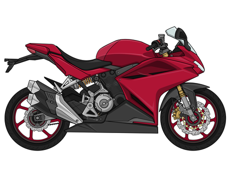 Motorcycle super sports