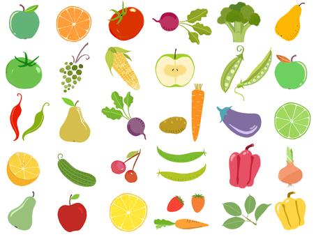 水果和蔬菜沙拉