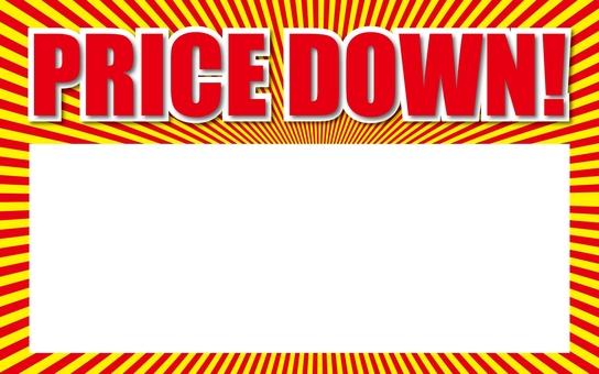 Preis Preis nach unten