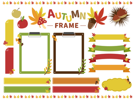Autumn frame material_01