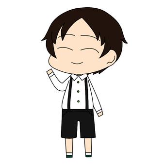 Elementary school boy_03