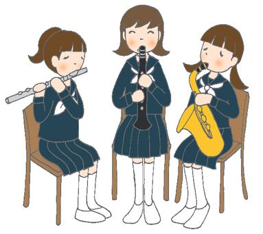 Woodpiper Trio Sailor Suit