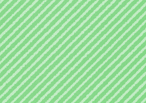 Naname striped green