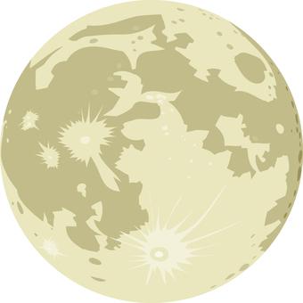 Moon moon celestial moon