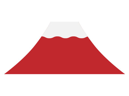 Fuji [Red Fuji · Simple]