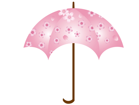 Umbrella (cherry pattern) 2
