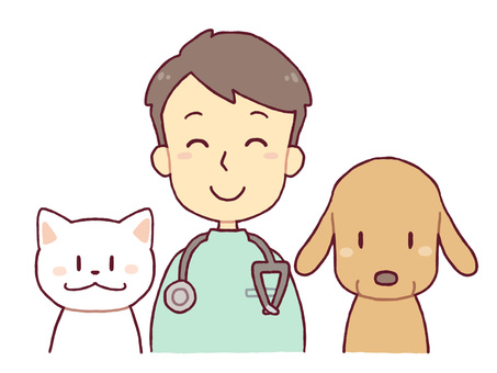 A veterinary doctor