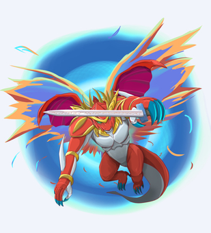 Armed dragon (sword)