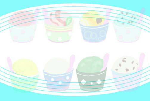 Ice cream frame