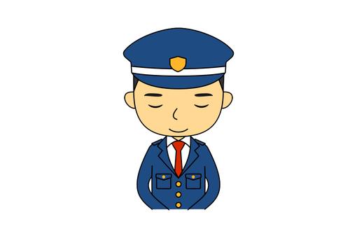 Male upper body guard 7