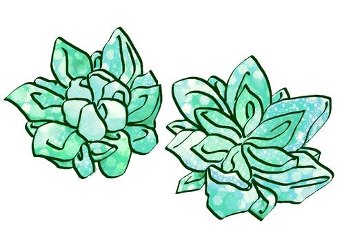 안주 세공 (녹색)