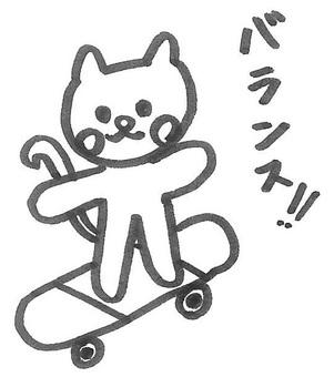 고양이 균형