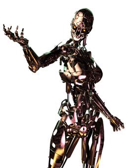 人間型骨格のみロボット