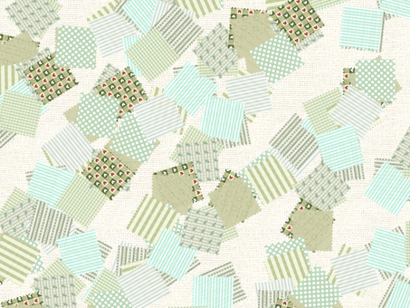 Patchwork (green type)