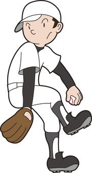 High school baseball-kun 11
