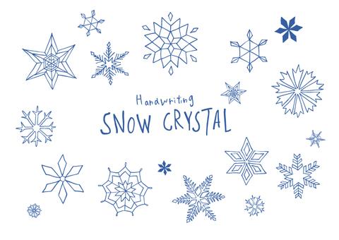 눈송이 / snowcrystal