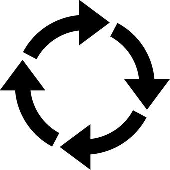 Rotating arrow_black